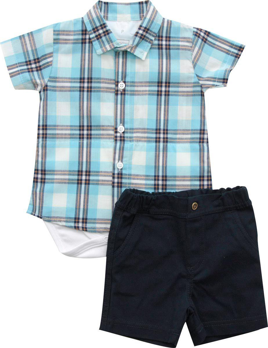 20.539E - Conjunto Body com Camisa