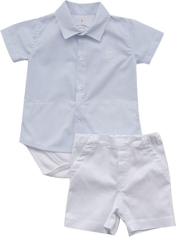 20.706 - Conjunto Body Camisa Listrada