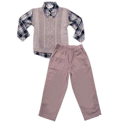 21.506A - Conjunto Camisa Xadrez