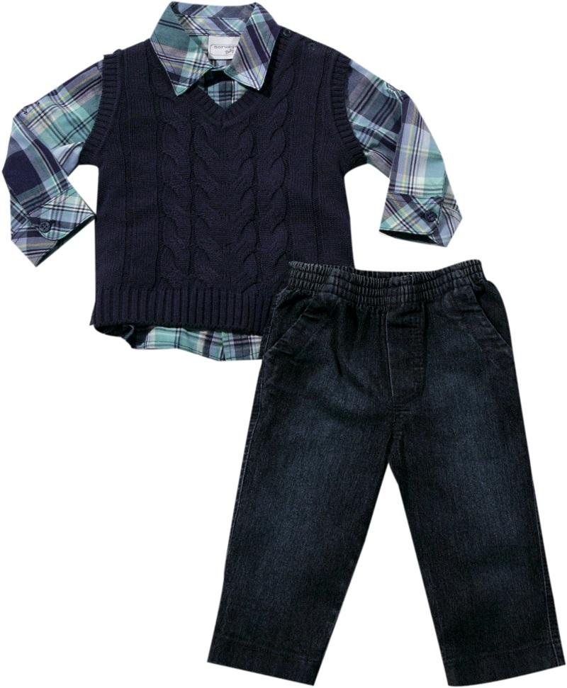 Conjunto com Camisa Xadrez
