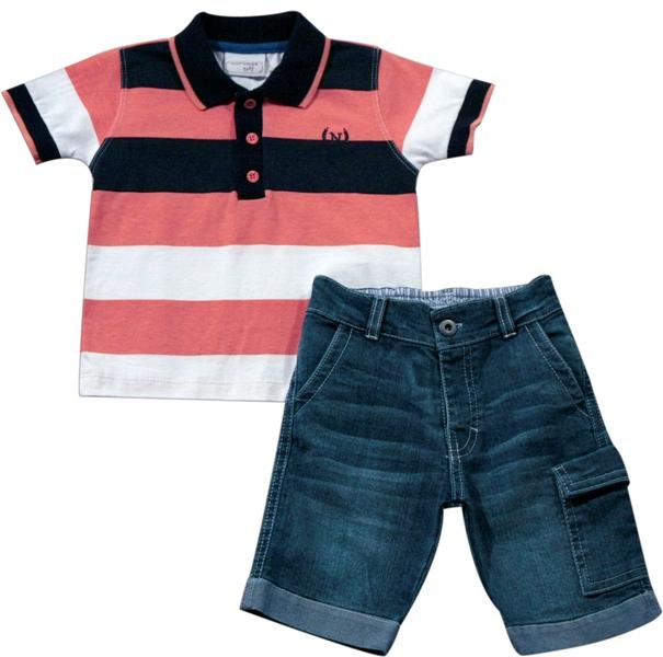 21.532 - Conjunto Camisa Listrada