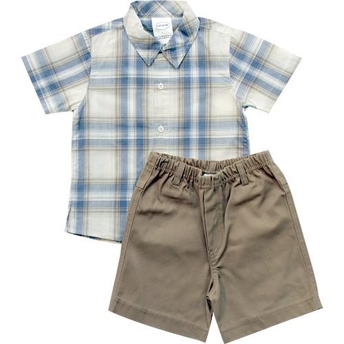 5c974fa0d615d 21.574 - Conjunto Camisa Xadrez - Loja Noruega