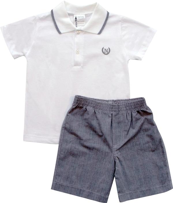 21.597-Conjunto c/ Camisa Polo