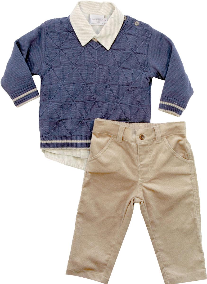 21.655 - Conjunto Sweater com Losangos