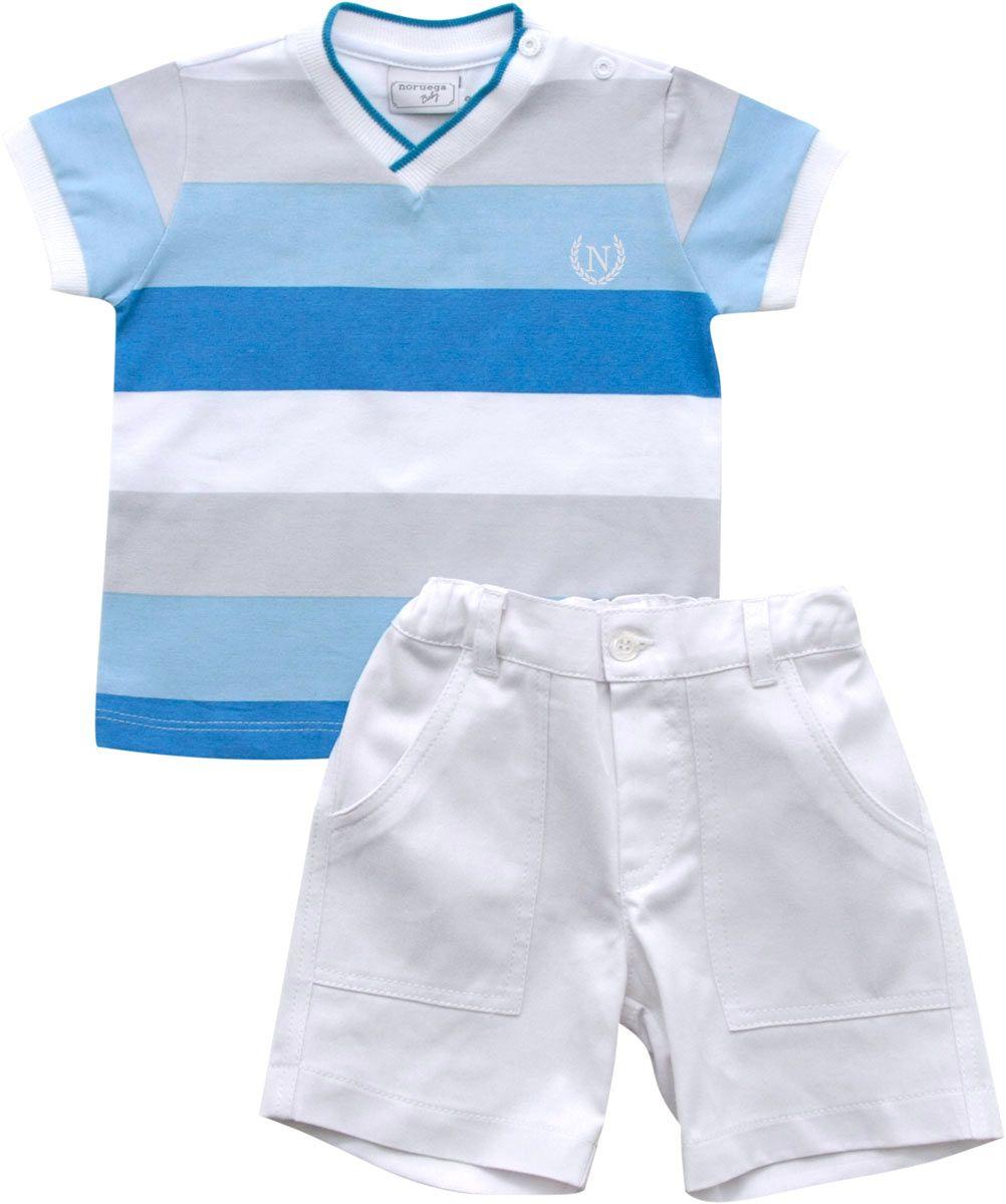 21.714 - Conjunto Camisa Listrada