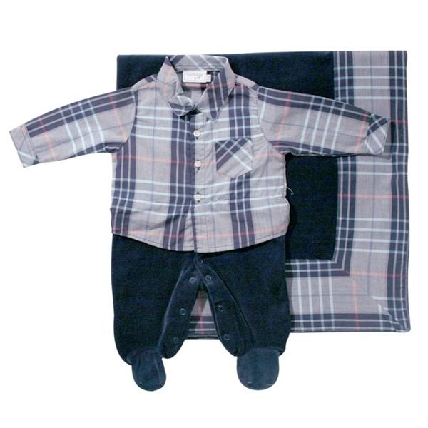 Kit Maternidade XAdrez  - Loja Noruega