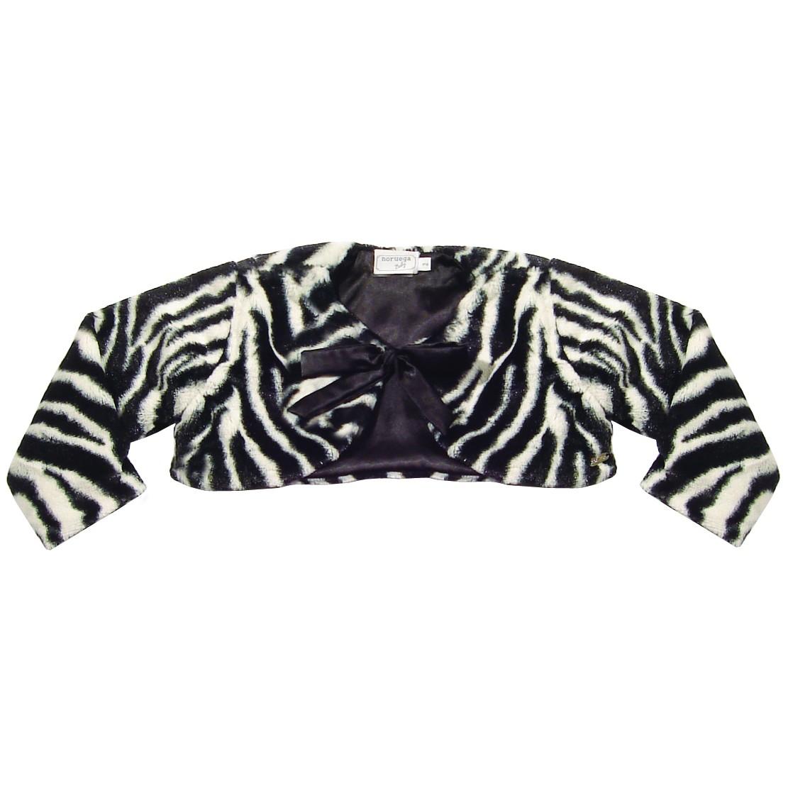 Casaco de Pele Zebra