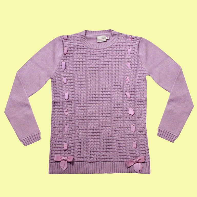 Sweater com 2 Laços  - Loja Noruega