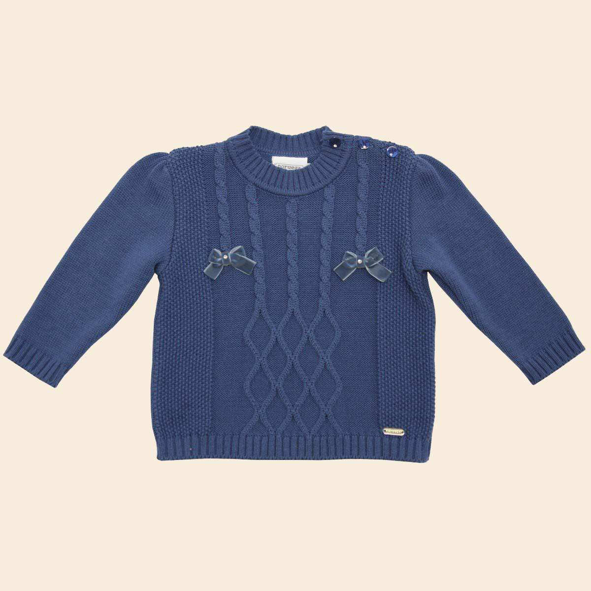 Sweater com Lacinhos  - Loja Noruega