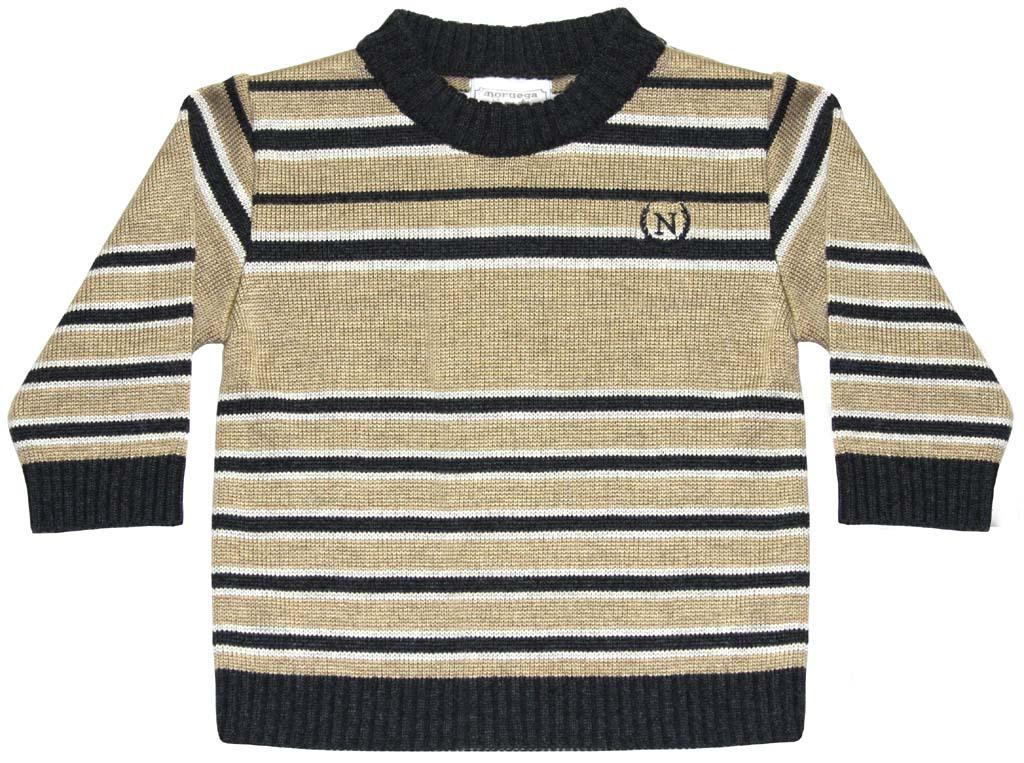 Sweater Listrado Irregular  - Loja Noruega