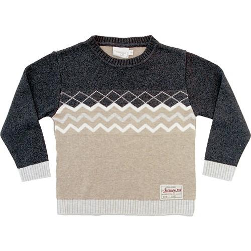 51.216 - Sweater com Desenho Geométrico
