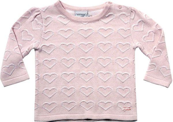 51.244 - Sweater com Relevo Corações