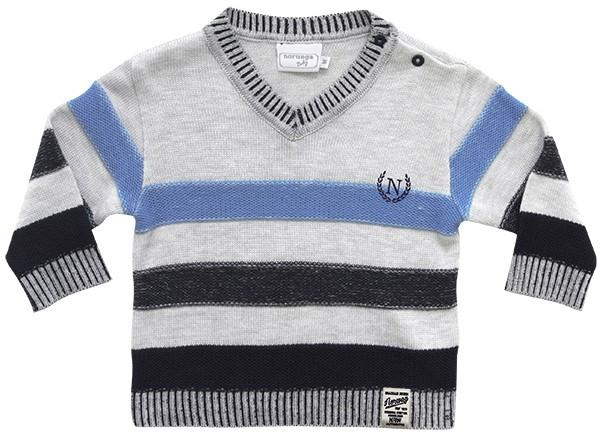 51.250 - Sweater com Listras em Relevo