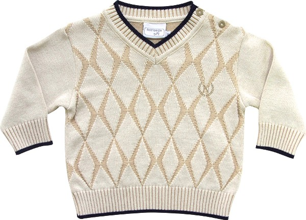 51.252 - Sweater Geométrico com losangos