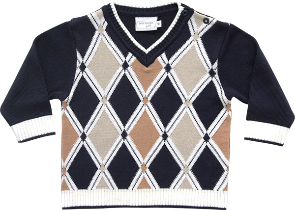 51.253 - Sweater com Losangos