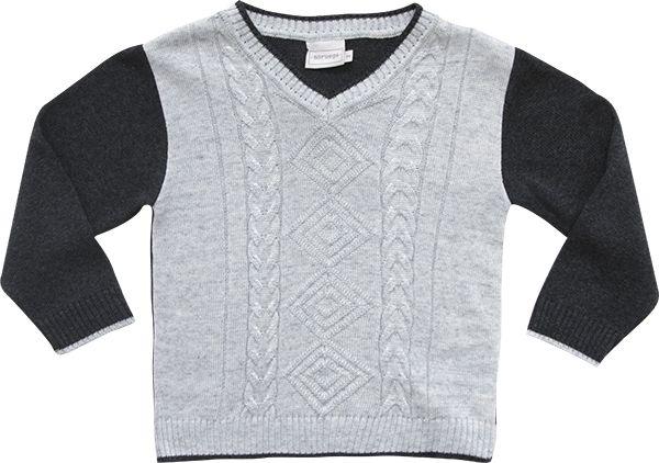 51.257 - Sweater com Tranças e Losangos