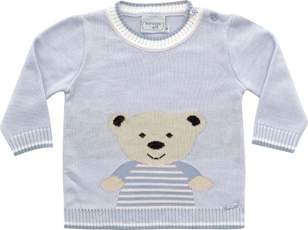 51.269 - Sweater Jacquard Urso