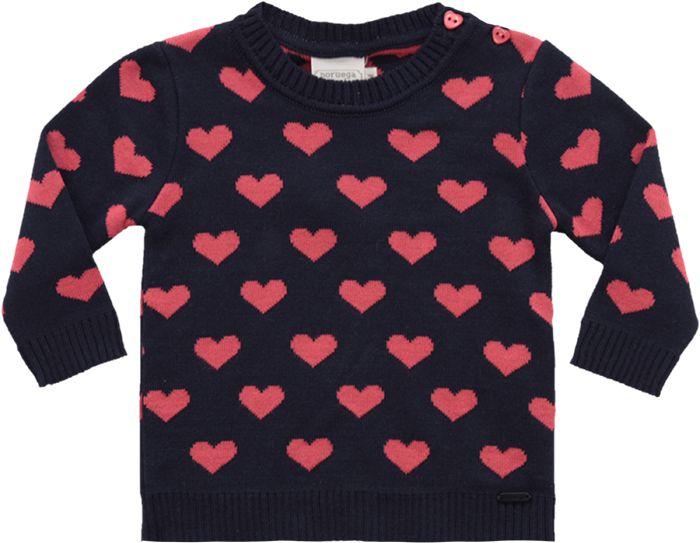 51.270 - Sweater Jacquard Corações