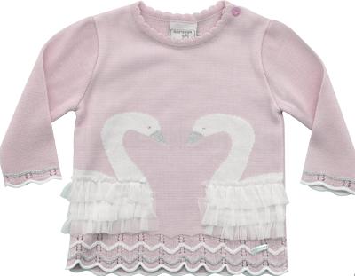 51.308 - Sweater Jacquard Cisne