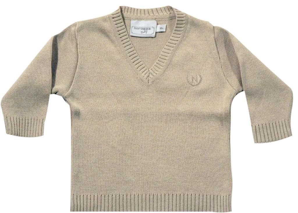 Sweater Básico 1X1 Gola V  - Loja Noruega