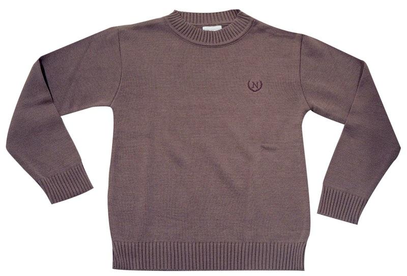 Sweater Básico Gola Careca  - Loja Noruega