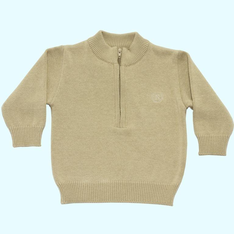 Sweater com Ziper  - Loja Noruega