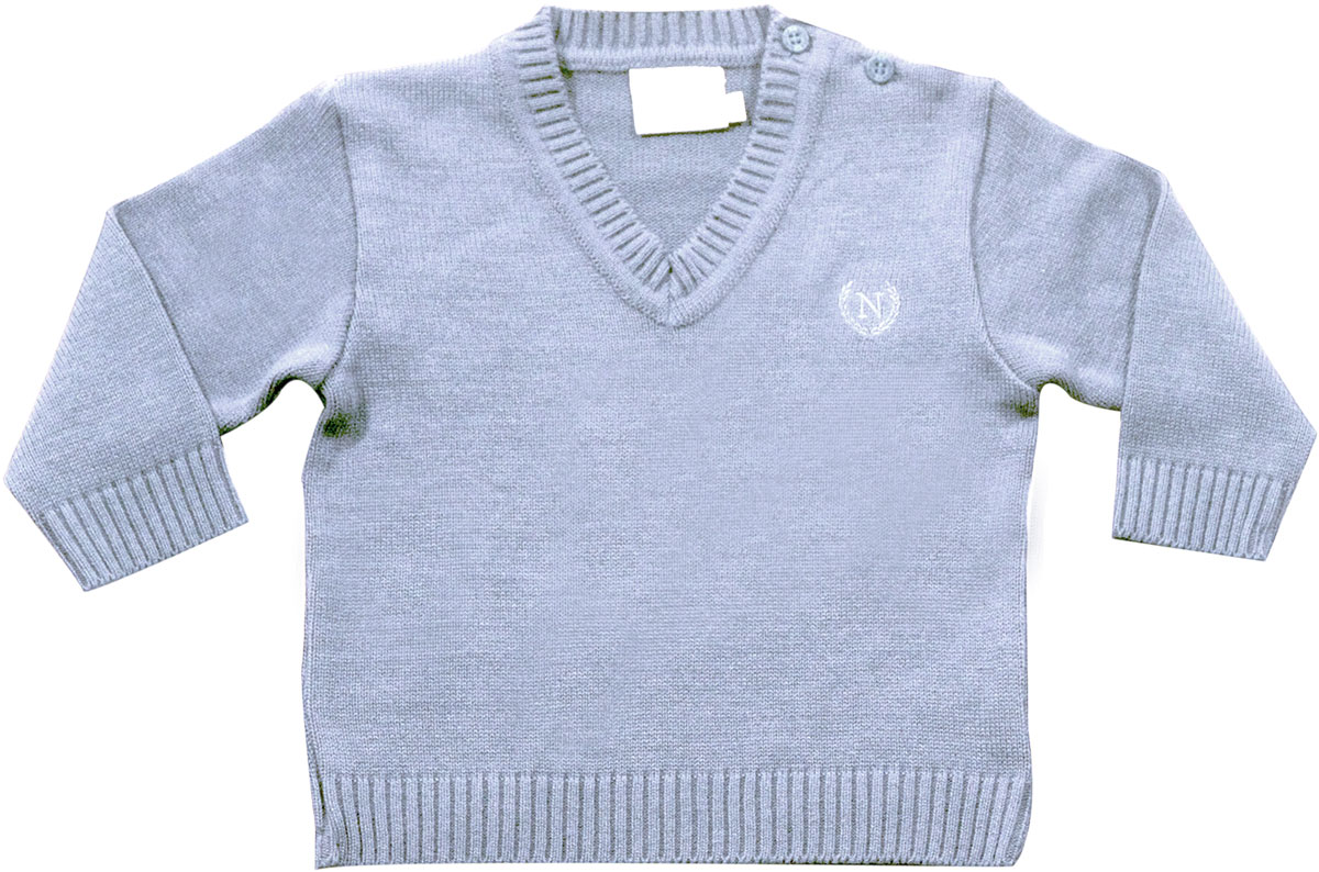54.092 - Sweater Básico Gola V