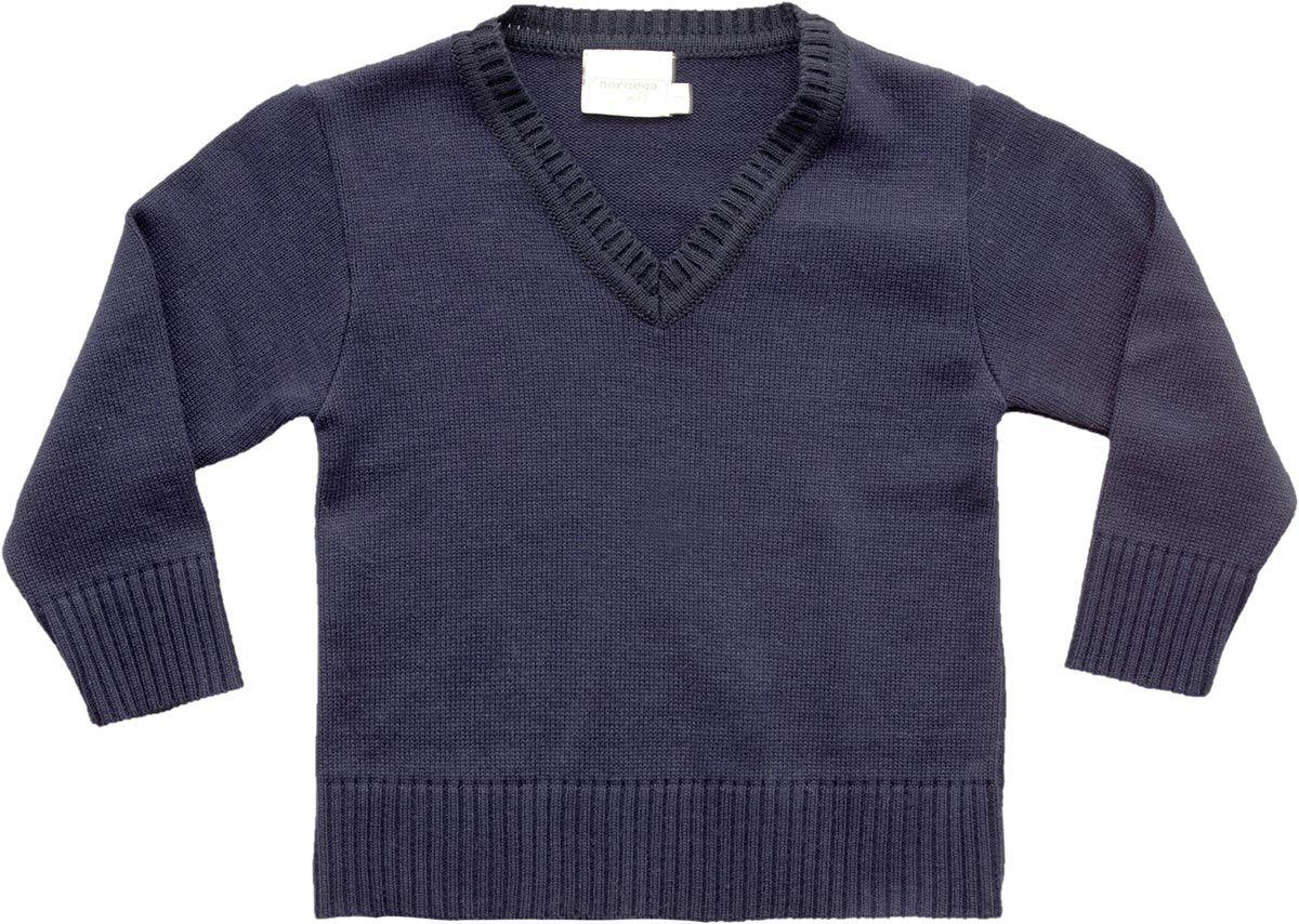 54.129A - Sweater Básico Gola V