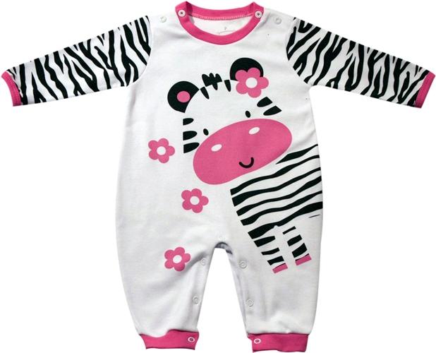 61.002 - Pijama Macacão Silk Zebrinha