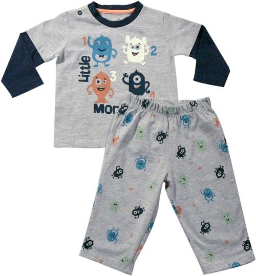 61.012 - Conjunto Pijama Silk Monstrinhos