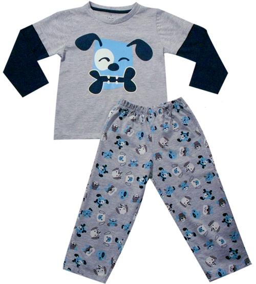 61.026 - Conjunto Pijama Silk Cachorrinho