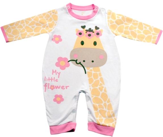 61.032 - Pijama Macacão Silk Girafa
