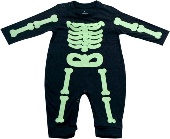 61.034 - Pijama Silk Esqueleto