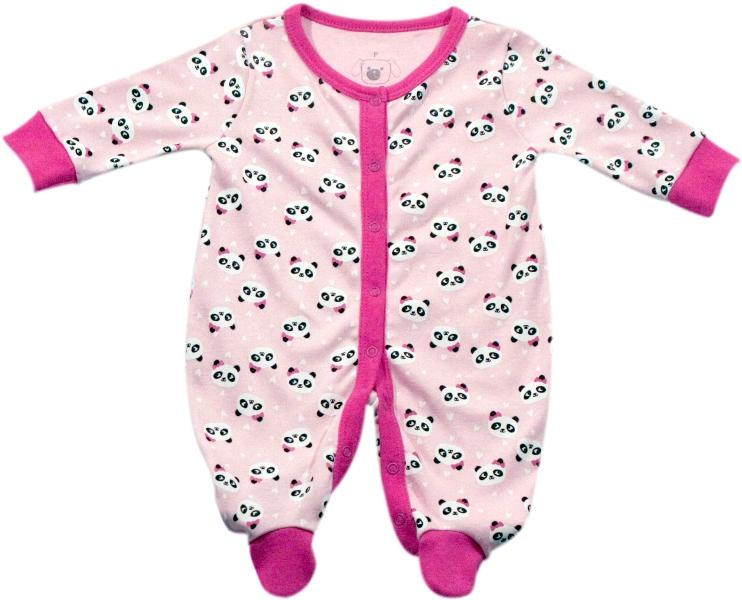 61.041 - Pijama Macacão Silk Panda
