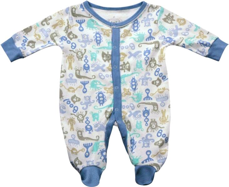 61.046 - Pijama Macacão Silk Monstrinhos