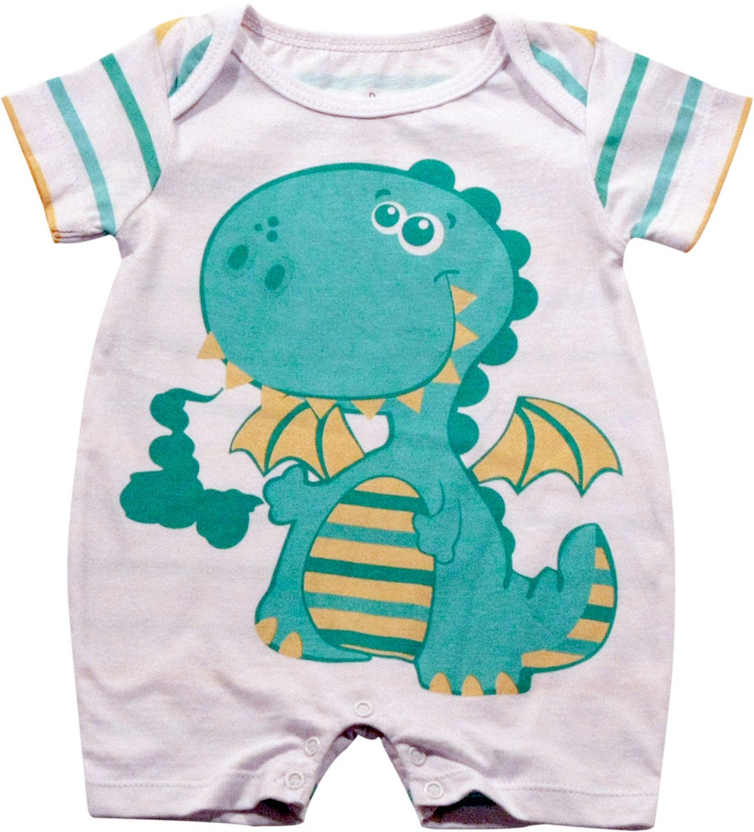 61.057 - Pijama Silk Dinossauro