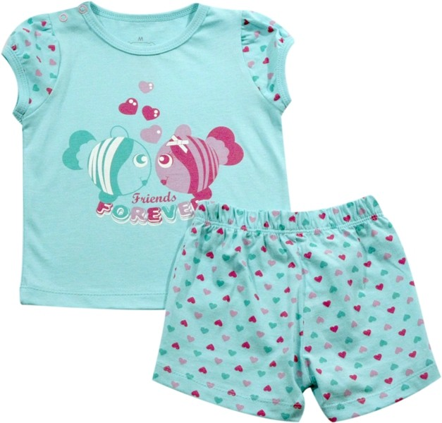 62.104 - Conjunto Pijama Silk Peixinhos