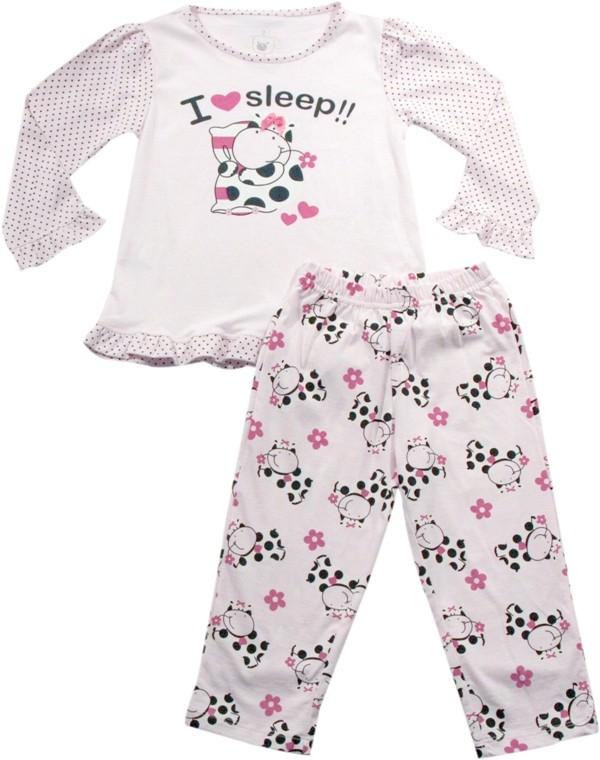 62.121 - Conjunto Pijama Silk Vaquinha