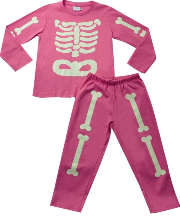 62.122 - Conjunto Pijama Silk Esqueleto