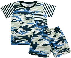 62.128 - Conjunto Pijama Silk Camuflado