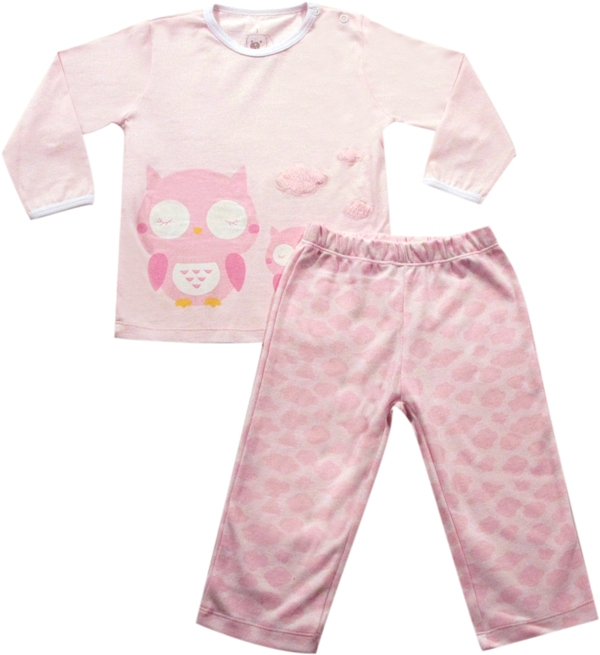 62.132 - Conjunto Pijama Silk Nuvens