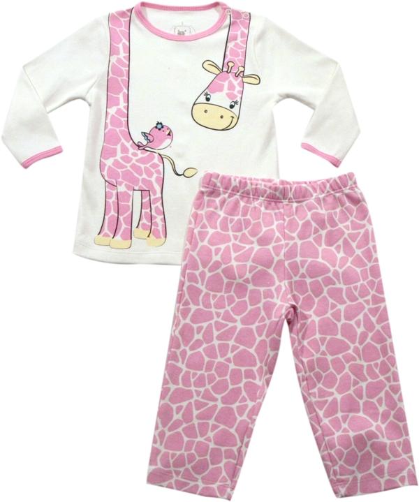 62.133 - Conjunto Pijama Silk Girafinha