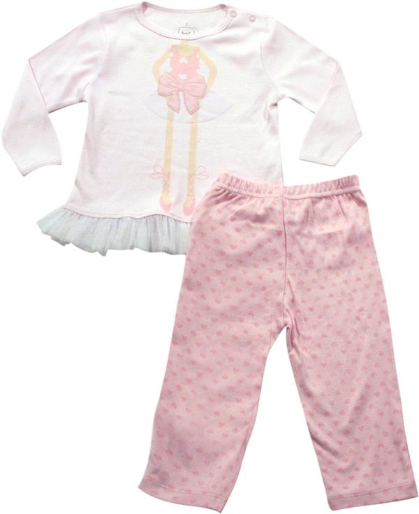 62.135 - Conjunto Pijama Silk Bailarina