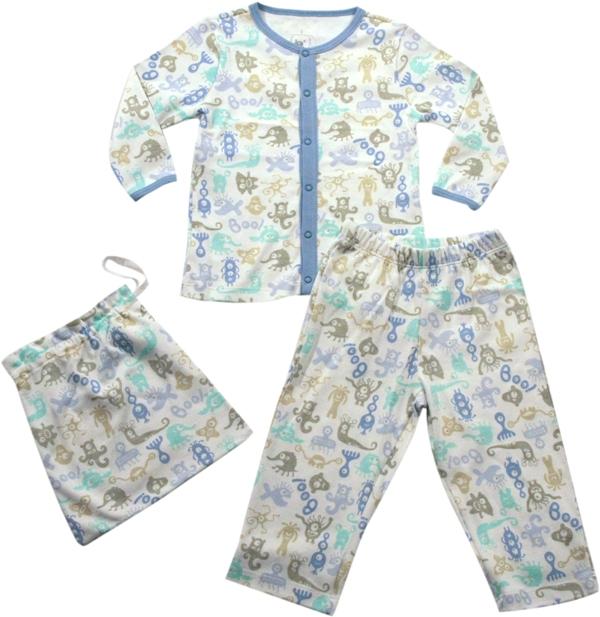 62.142 - Conjunto Pijama Silk Monstrinhos