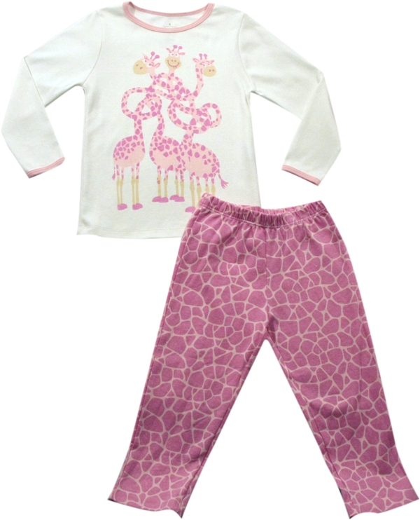 62.147 - Conjunto Pijama Silk Girafas