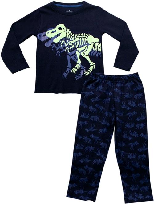62.151 - Conjunto Pijama Silk Dinossauro