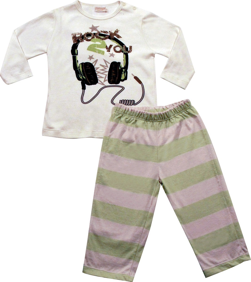 62.161 - Conjunto Pijama Silk Rock 2 You