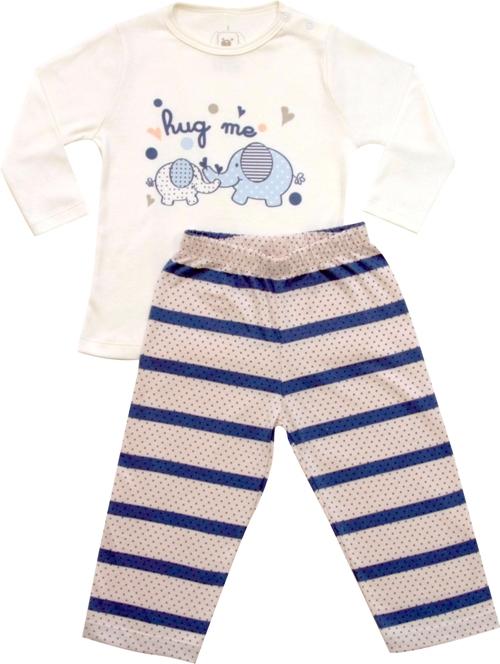 62.162 - Conjunto Pijama Silk HUG ME