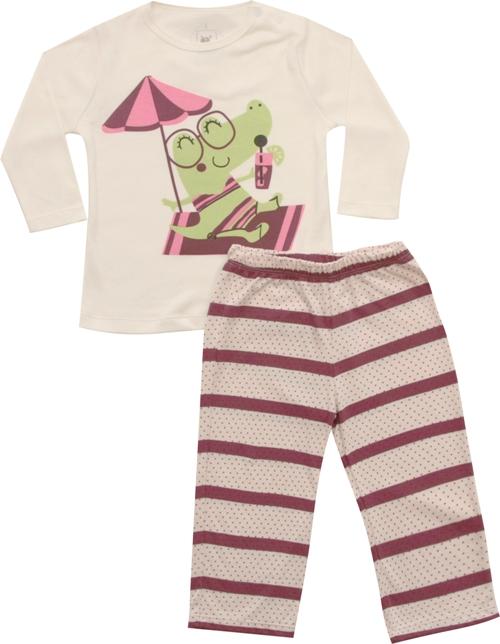 62.163 - Conj. Pijama Silk Jacaré