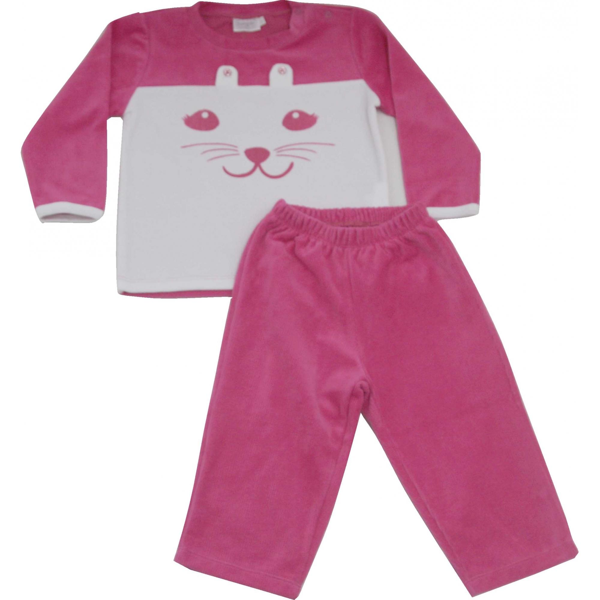 62.137EX - Conjunto Pijama Silk Gato